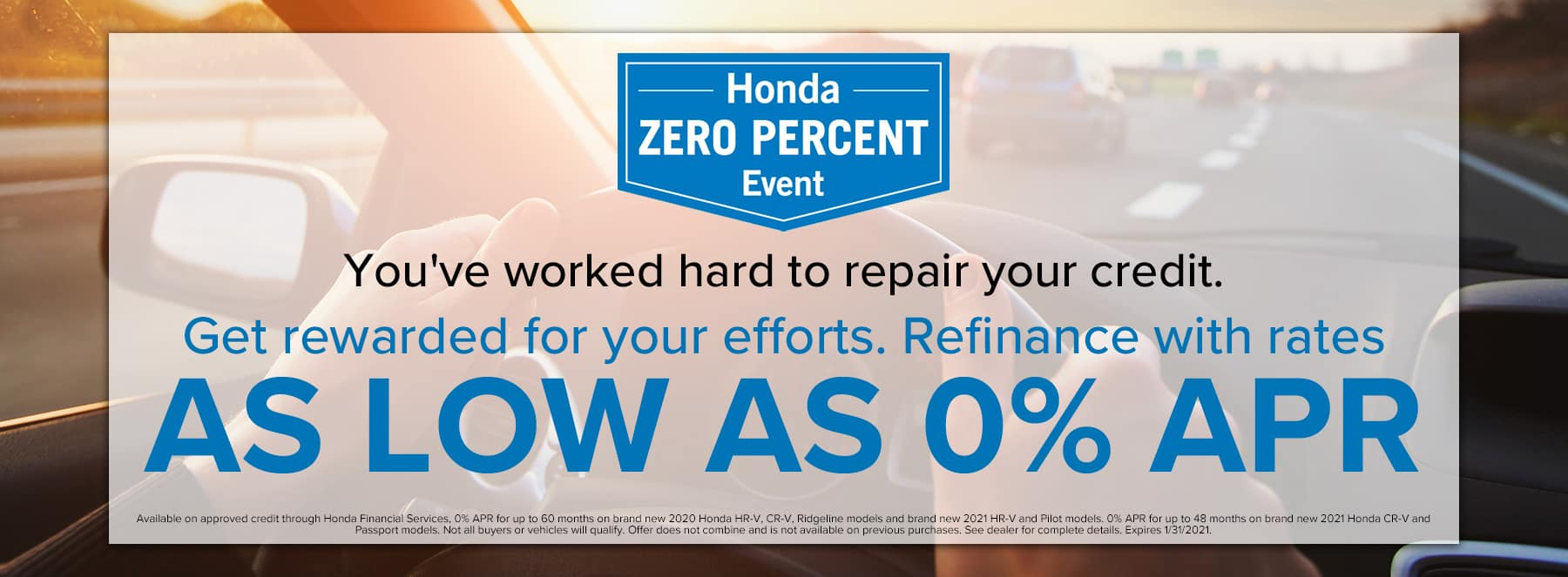 Refinance with rates as low as 0% APR