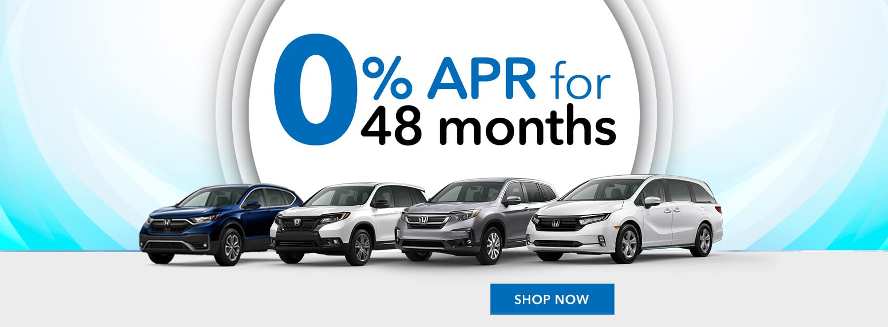 Honda 0% APR for 48 months