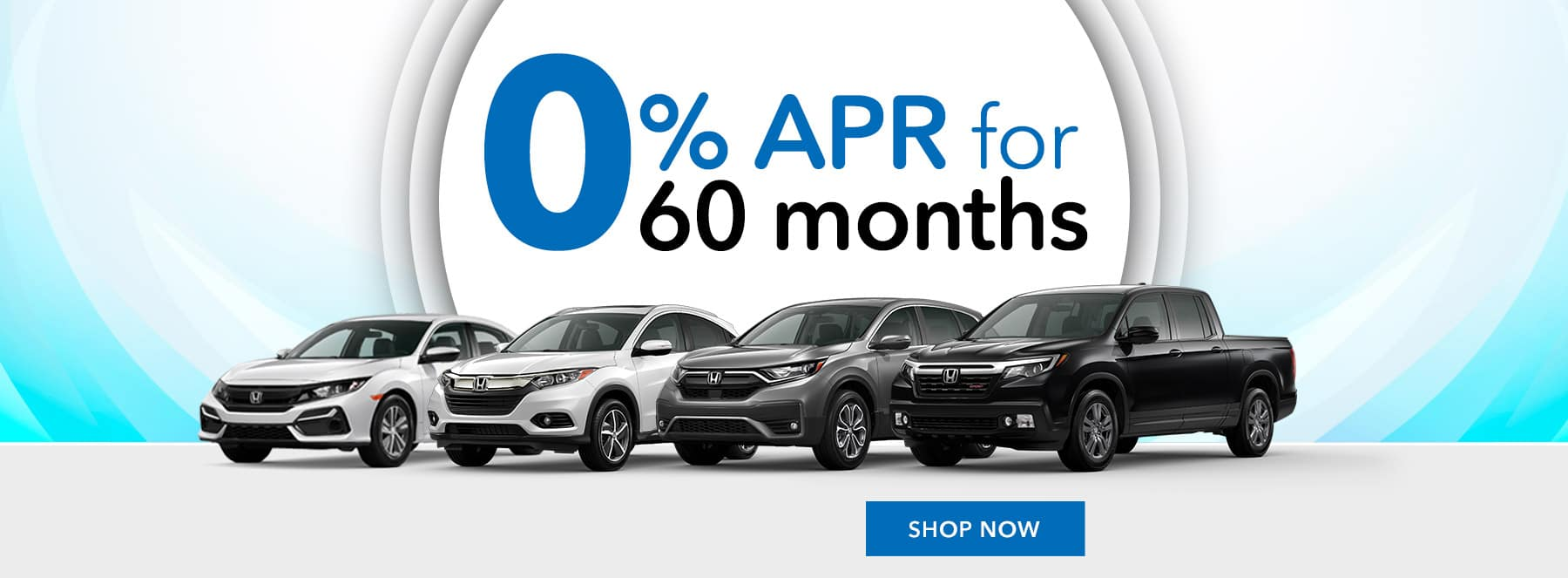 Honda 0% APR for 60 months