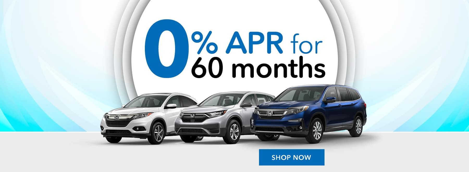 Honda 0% APR for 36 on 2021 Ridgeline