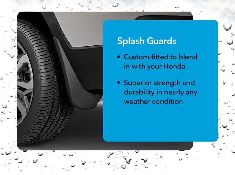 Splash Guards