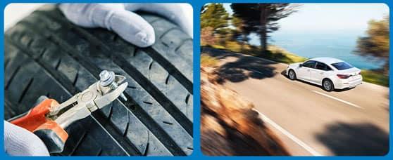Road Hazard Coverage & Roadside Assistance