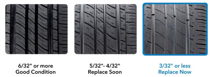 Check your tire wear