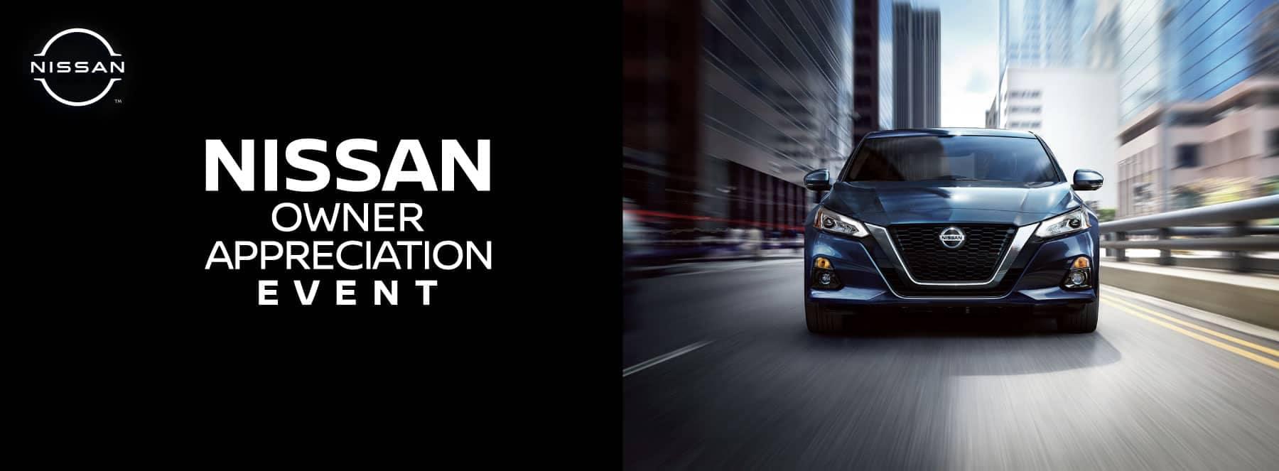 Nissan Owner Appreciation