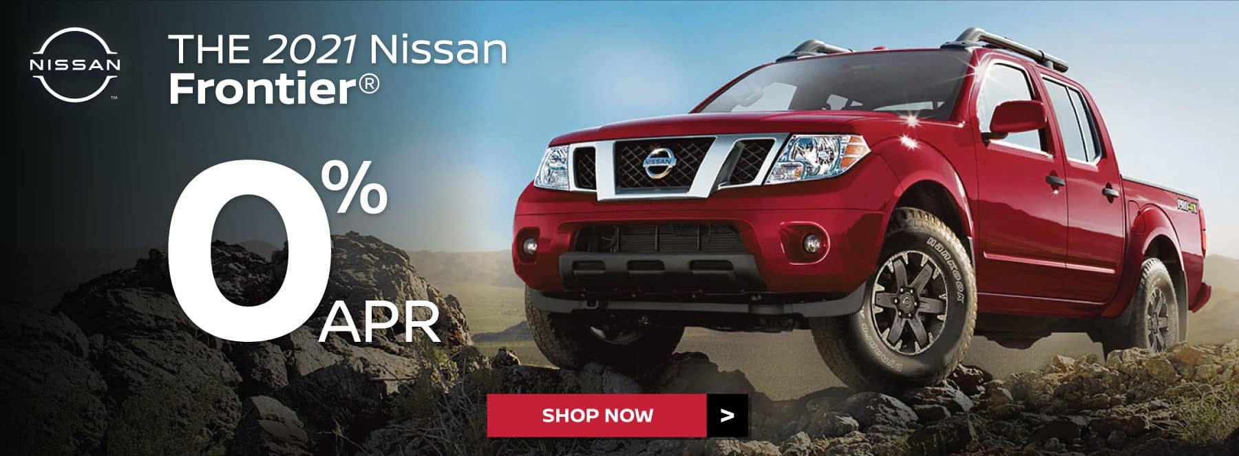 0 % APR on 2021 Nissan Frontier