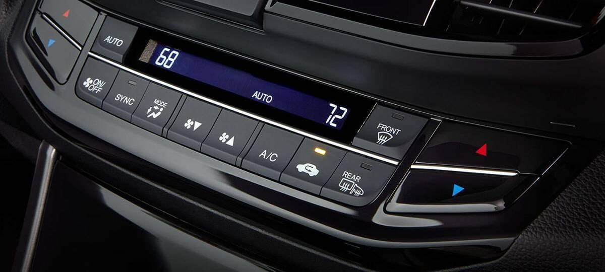 Honda Accord Automatic Climate Controls