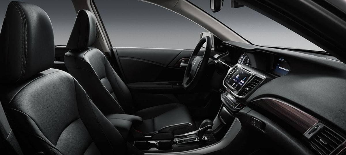 2017 Honda Accord Sedan Touring Interior