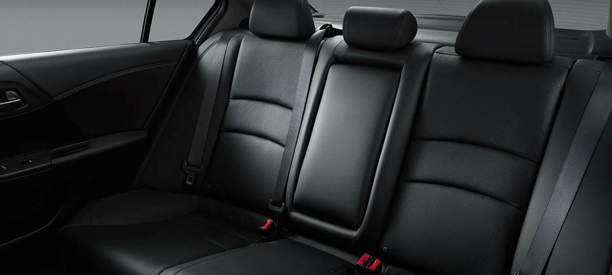 2017 Honda Accord Sedan Rear Seating