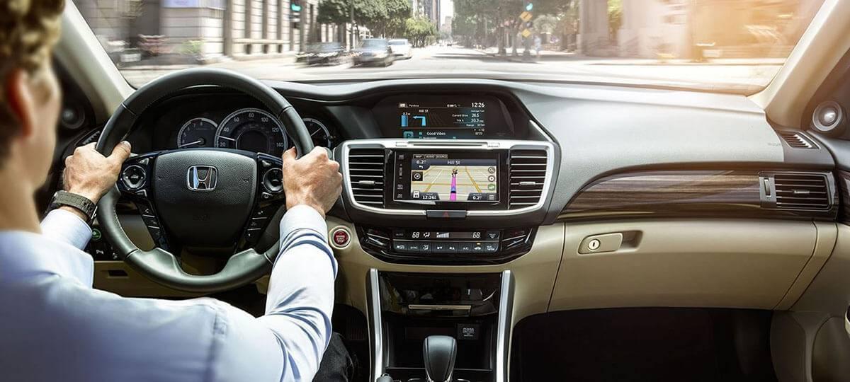 2017 Honda Accord Sedan Touring Instrument Cluster Navigation Screen