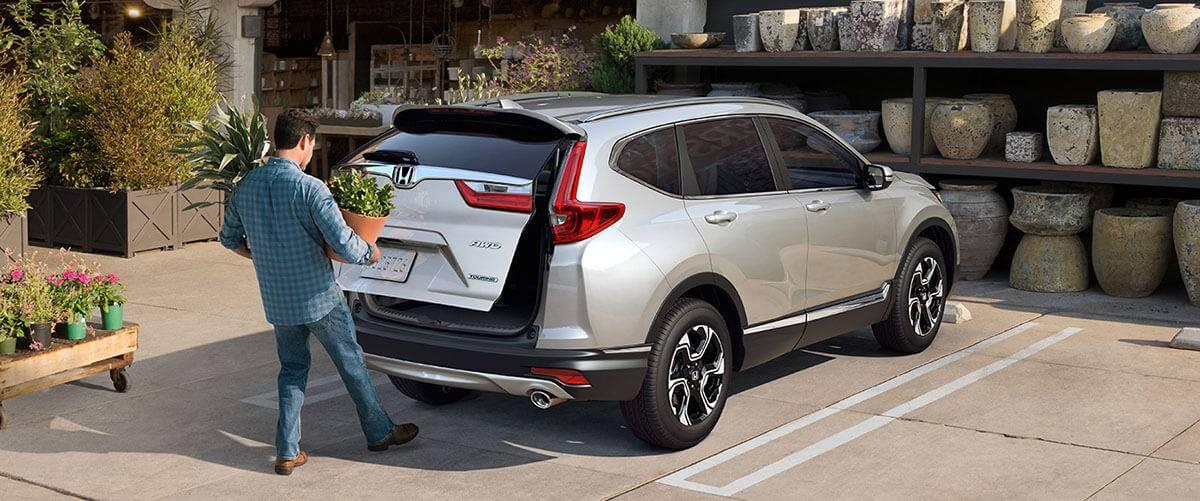 2017 Honda CR-V Touring Touchless Tailgate