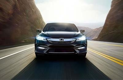 2017 Honda Accord Sedan driving down the highway