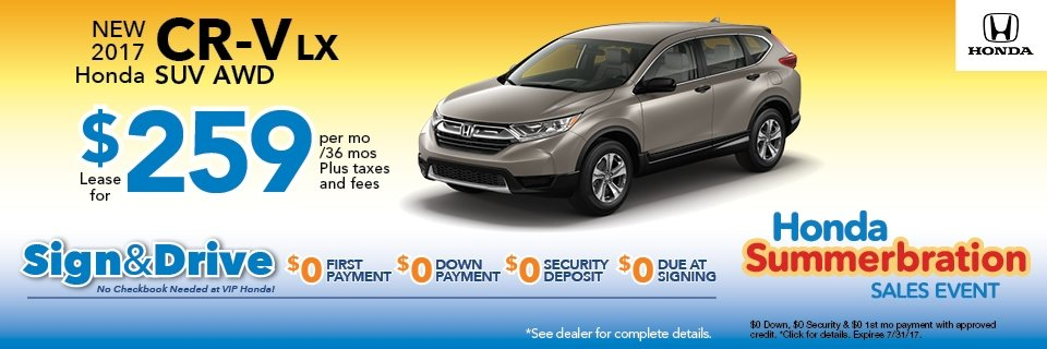 Vip Honda Honda And Used Car Dealer In North Plainfield Nj
