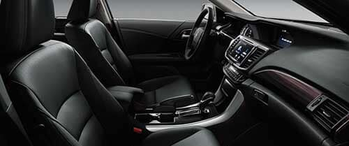 2017 Honda Accord Interior Front Space