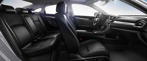 2017 Honda Civic Full Interior View