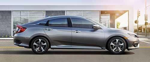 2017 Honda Civic Side Profile View