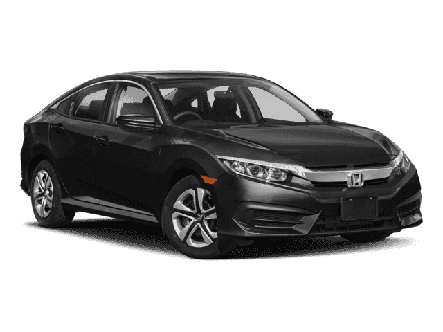 High Quality 2018 Civic Sedan LX CVT 36mo 10k/yr $119