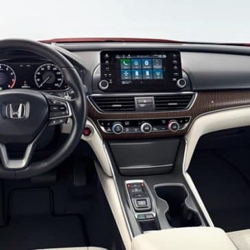 2018 Honda Accord Interior Dashboard and Features