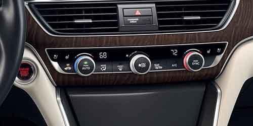 Honda Accord Dual Zone Climate Control