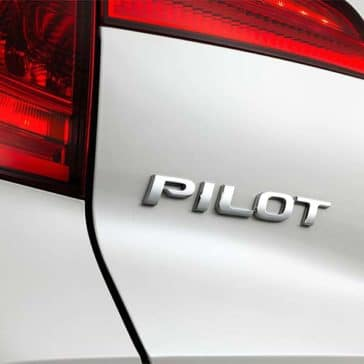 2018 Honda Pilot Rear Close Up