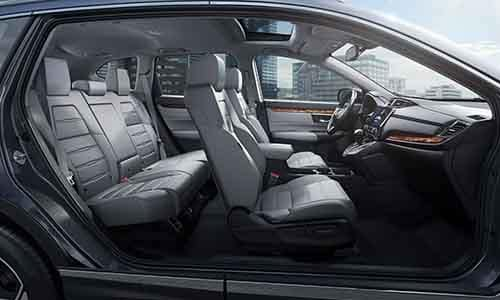 Honda CR-V Interior Seating and Features