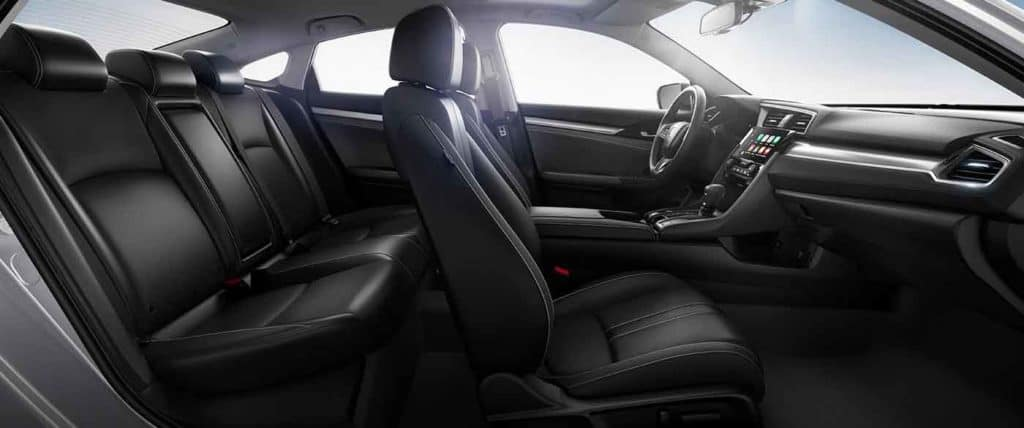 2018 Honda Civic Leather Seating