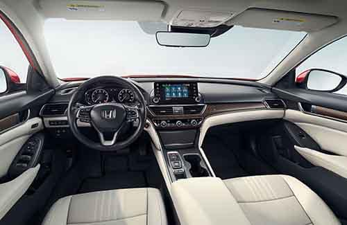 2018 Honda Accord Interior Space
