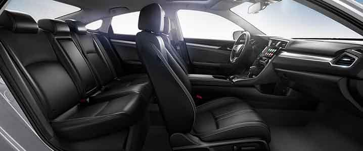 2018 Honda Civic Sedan Interior Seating and Space