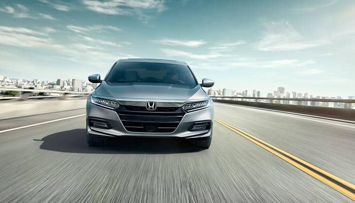 2018 Honda Accord Driving on a Highway