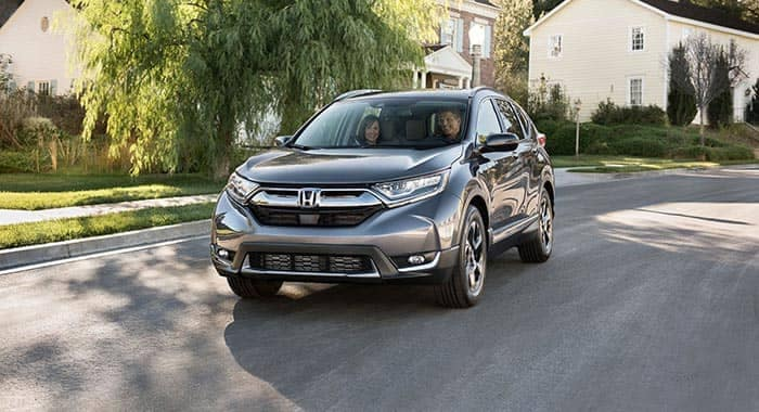 2018 Honda CR-V Driving Through Suburban Neighborhood