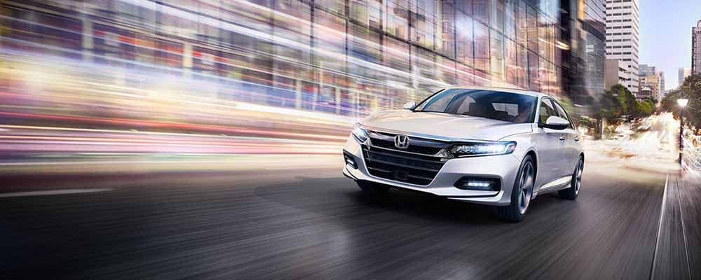 2018 Honda Accord Driving Through the City