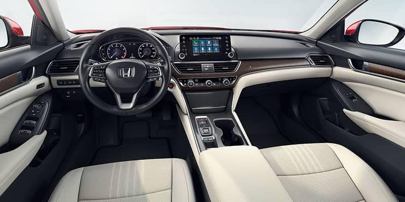 2018 Honda Accord Sedan Dashboard Technology Features