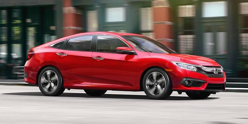 2018 Honda Civic Driving