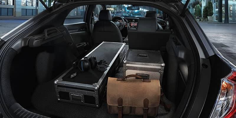 2018 Honda Civic Hatchback Cargo Area