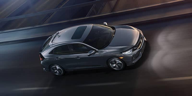 2018 Honda Civic Hatchback Driving