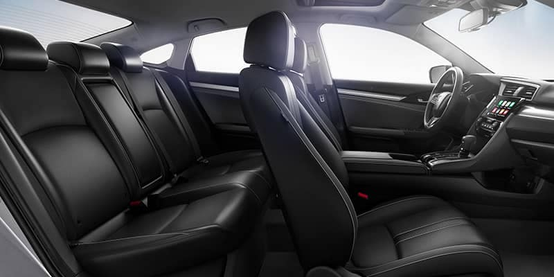 2018 Honda Civic Interior Seating Full View