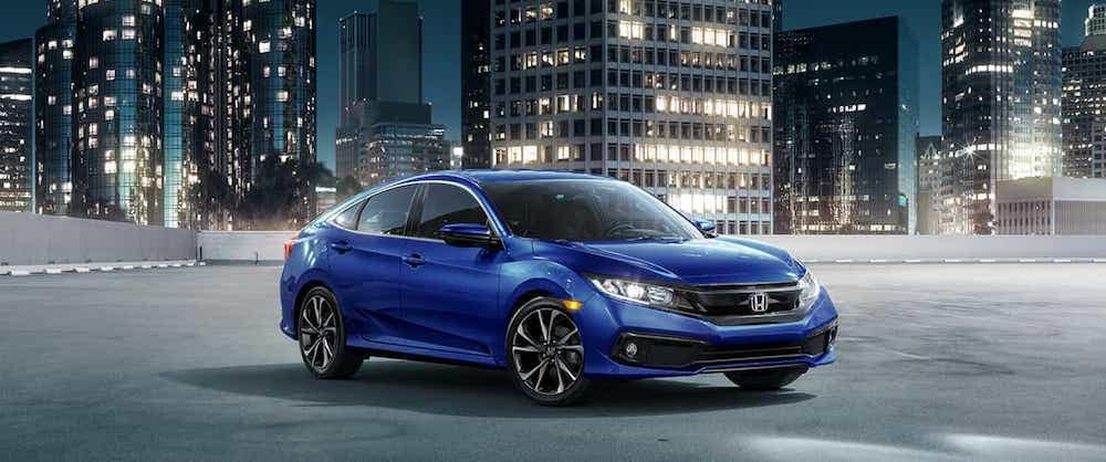 2019 Honda Civic Lx Vs 2019 Honda Civic Ex Vip Honda