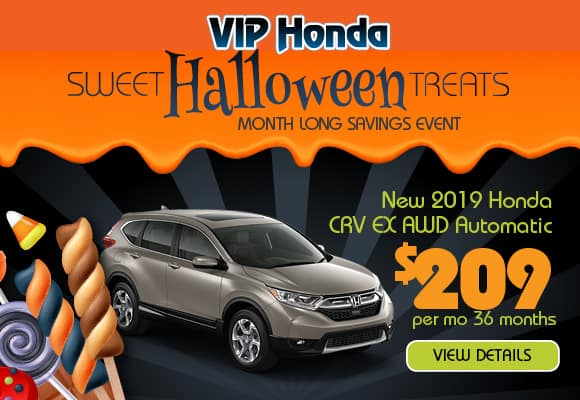 2019 CR-V CVT AWD EX 36 month lease with 10k miles/yr