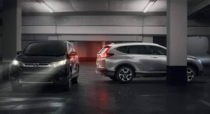 2019 Honda CR-V in Parking Garage