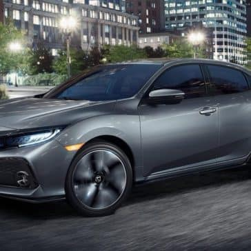 2019 Honda Civic Hatchback At Night