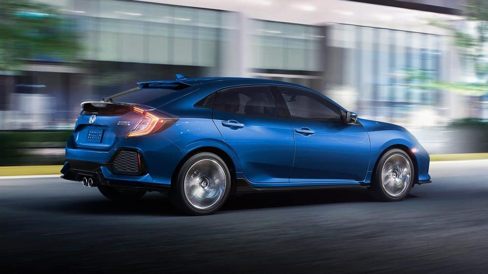 2019 Honda Civic Hatchback driving