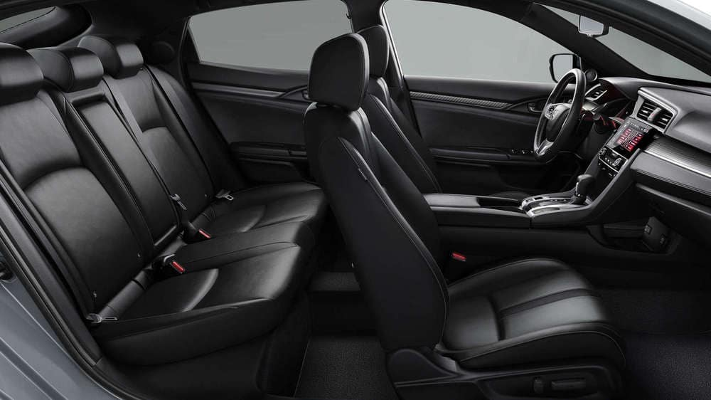 2019 Honda Civic Hatchback Seating