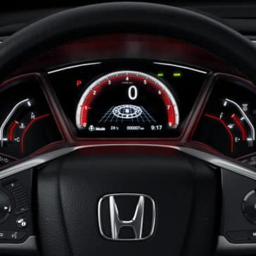2019 Honda Civic Hatchback Steering Wheel