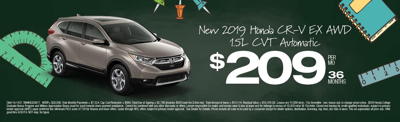 New Honda CR-V in North Plainfield, NJ | VIP Honda