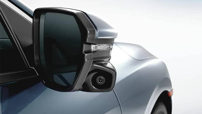 Honda Side Mirror with Camera