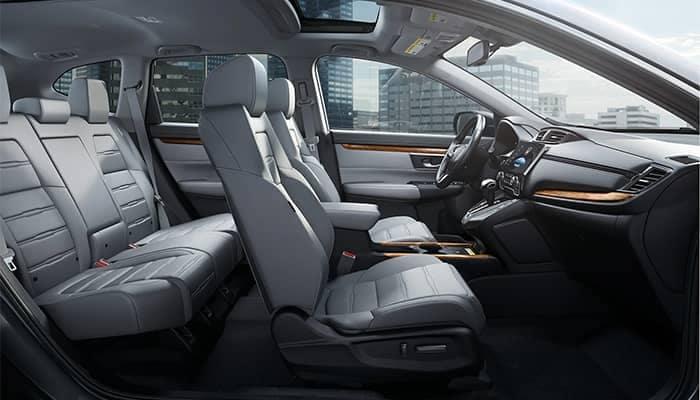 Honda CR-V Interior Seating Side View