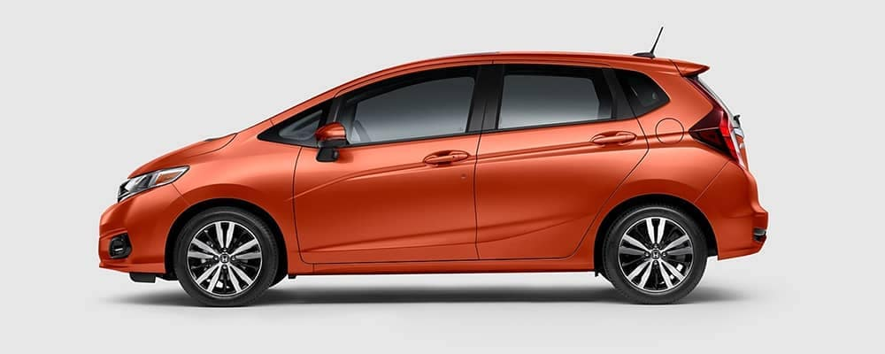 2020 Honda Fit Side Profile