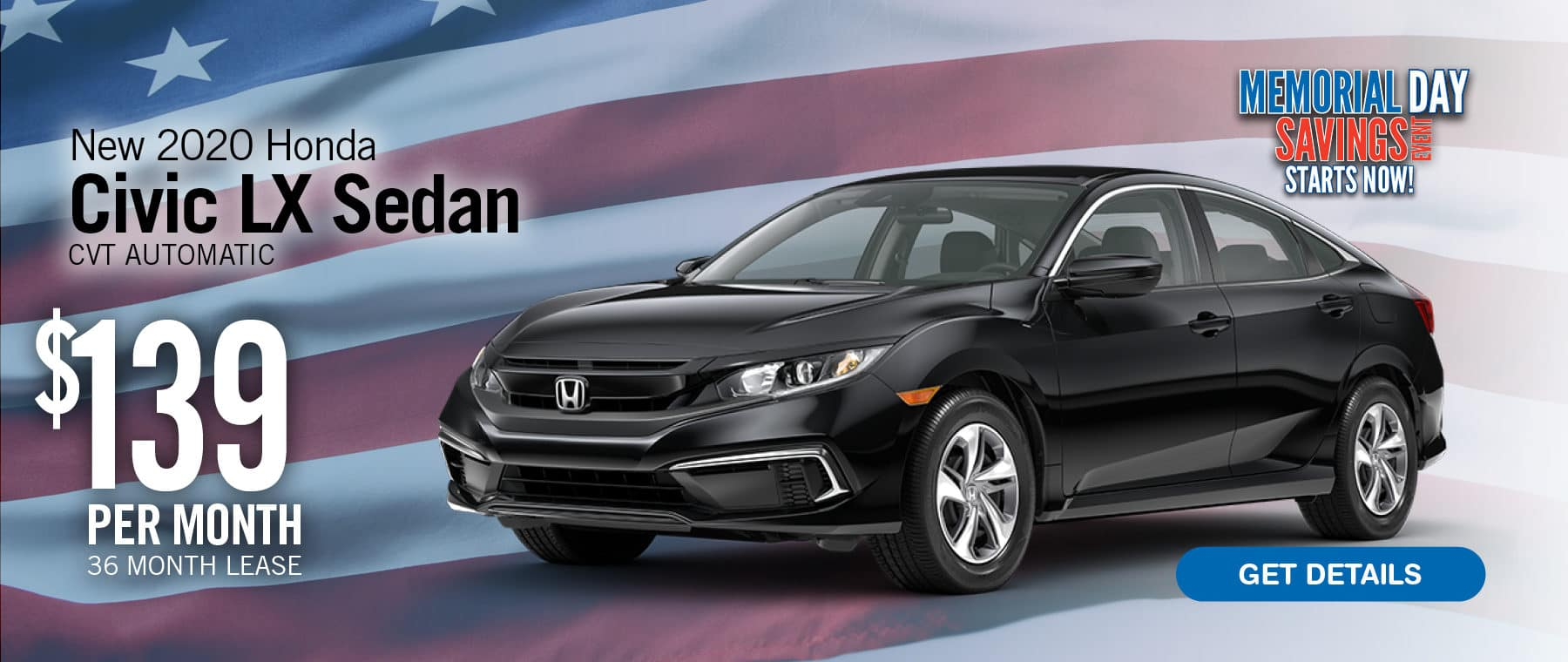 Lease a Civic for $139