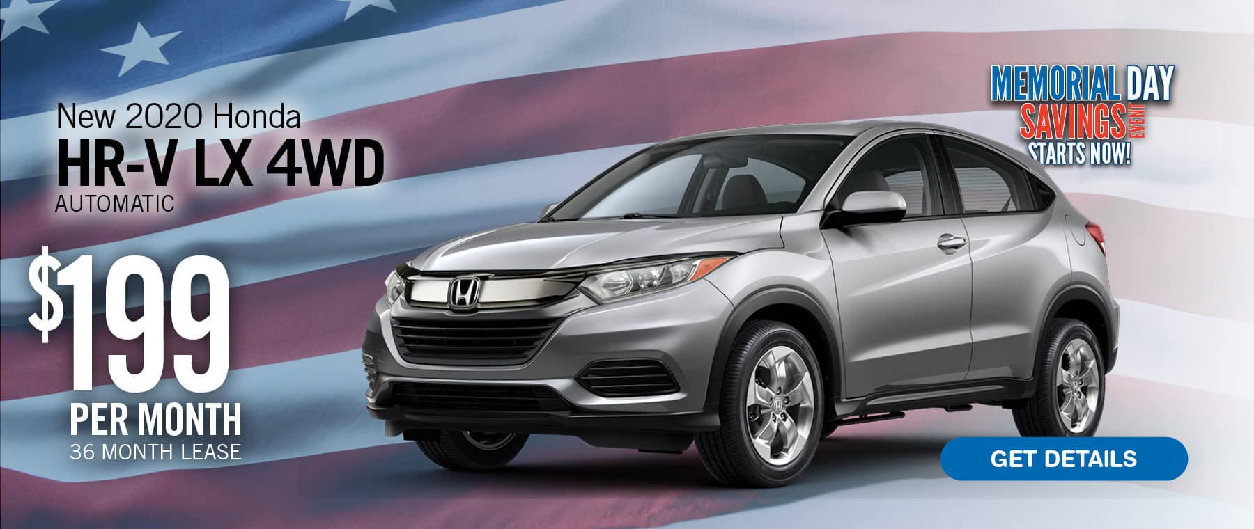 Lease a HR-V for $199