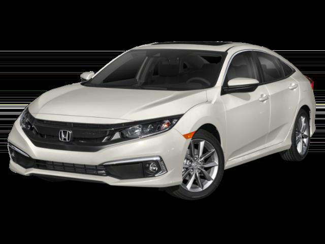 White 2020 Honda Civic