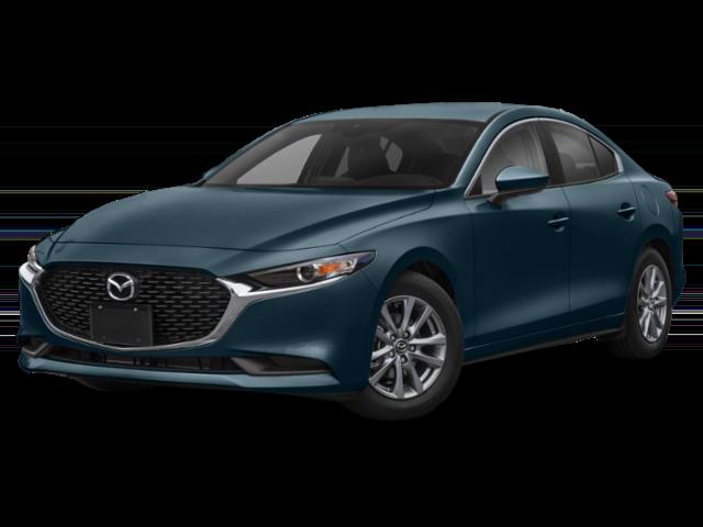 2020 Blue Mazda3